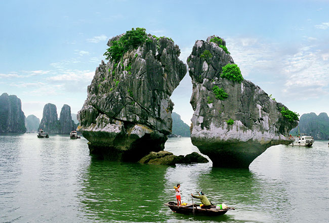 Ga Choi islet in Halong Bay