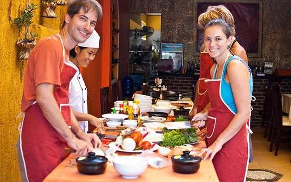 Cooking Class & Relaxing Tour